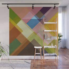 Abstract Composition 634 Wall Mural