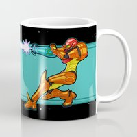 samus Mugs featuring Samus Aran by Arnix