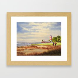 Harbor Town Golf Course 18th Hole South Carolina Framed Art Print