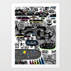 Koalarama Art Print