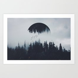INTROVERT Art Print