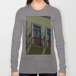 Balconies of Puebla  Long Sleeve T-shirt