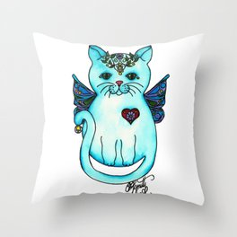 Icon Cats VIII Throw Pillow