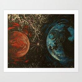 No Distance Matters Art Print