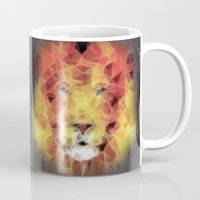 the lion king Mugs featuring lion king by Ancello
