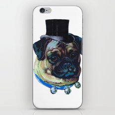 Sir Pugs iPhone & iPod Skin
