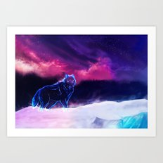 WOLF - Fang Of The North Art Print