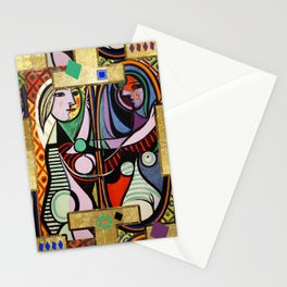 Picasso collage Stationery Cards