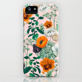 Wildflowers #pattern #illustration iPhone Case