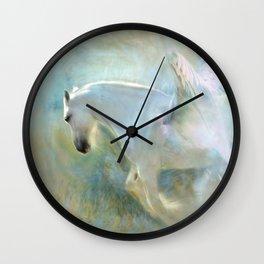Angelic Pegasus Wall Clock