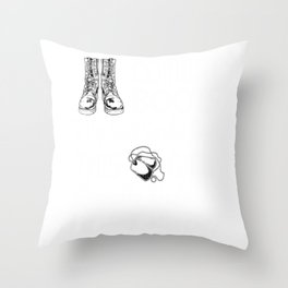 Female Veteran from South Carolina Gift for South Carolinian Woman Veteran Throw Pillow