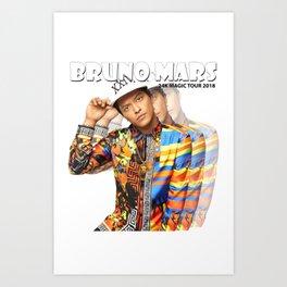 brunomars 2018 Art Print