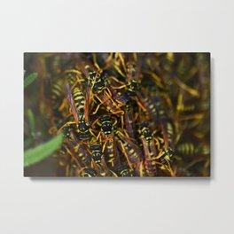 Home Sweet Hive Metal Print