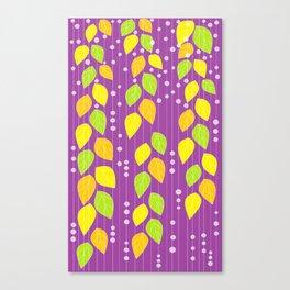 SOUND LEAVES Canvas Print
