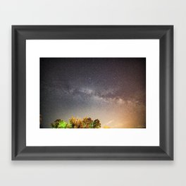 Overhead Framed Art Print