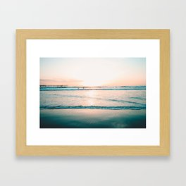 California Seaside Framed Art Print