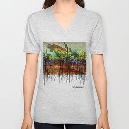 Cezanne Unisex V-Neck