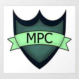 Multiplayer Community Logo (MPC) Art Print