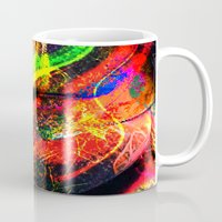 graffiti Mugs featuring Graffiti !! by shiva camille