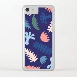 Modern Native Plants Clear iPhone Case