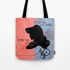The More There is Of Love Tote Bag