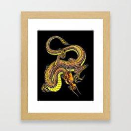 japanese dragon 14 Framed Art Print