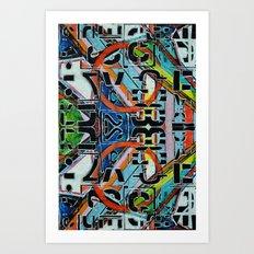Grafgraphy 01 Art Print