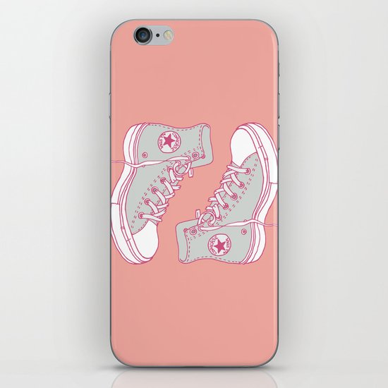 Canvas Shoes iPhone & iPod Skin