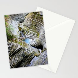 Curves Of Time Stationery Cards