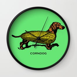 CORNDOG Wall Clock