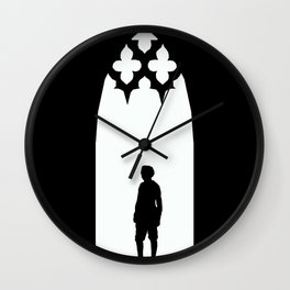 A Century of Horror Classics :: Turn of the Screw Wall Clock