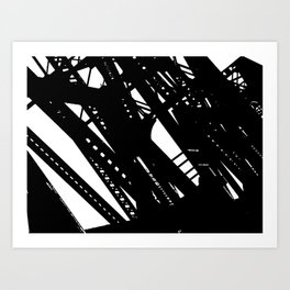 Bridges 2 Art Print