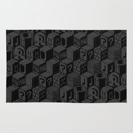 SUPER MARIO BLOCK-OUT! Rug