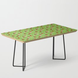 Ladybugs and Leaves Coffee Table