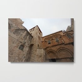 Church of the Holy Sepulchre, Jerusalem Metal Print