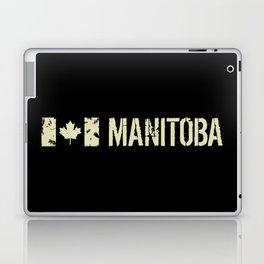 Canadian Flag: Manitoba Laptop & iPad Skin