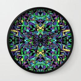 GEO-FRACTALS Wall Clock