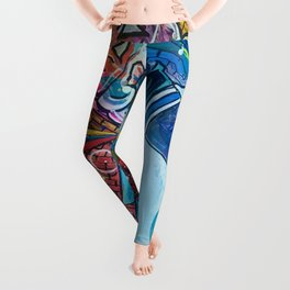 """Peace, Love, & Roadtrippin'"" Leggings"