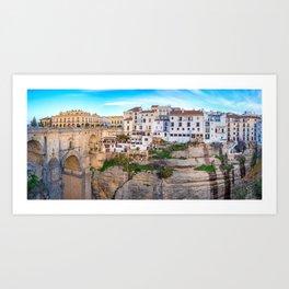 Ronda, Spain Panorama Art Print