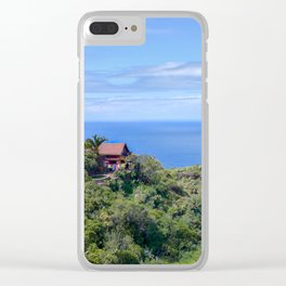 Little House on La Palma Clear iPhone Case