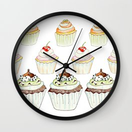 Have a Cupcake! Wall Clock