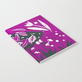 Hedgehog - Fuchsia Palette Notebook