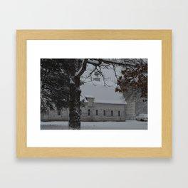 Zimmerman White Barn II Framed Art Print