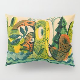 Unspecific Things in the Pacific Timezone Pillow Sham