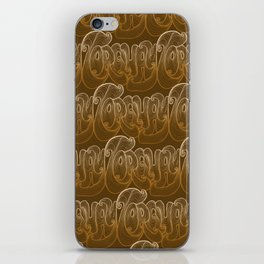 Torquay Typography - Warm Sand iPhone Skin