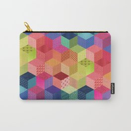 RAINBOW GEO PATTERN Carry-All Pouch