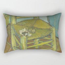 Van Gogh's Chair Rectangular Pillow