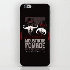 Lestrade's Moustache Pomade iPhone & iPod Skin
