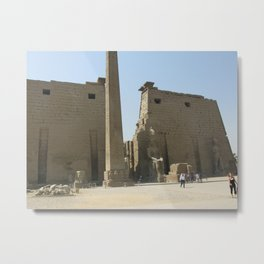 Temple of Luxor, no. 1 Metal Print