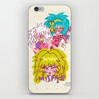 misfits iPhone & iPod Skins featuring Misfits Jem and the Holograms by Lady Love